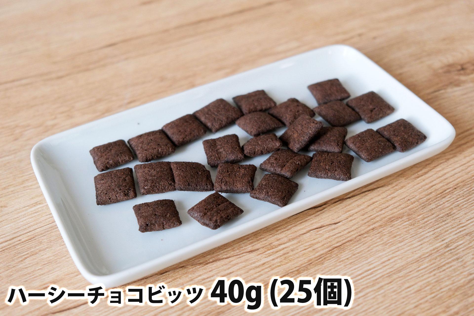 40gのハーシーチョコビッツ(25個)
