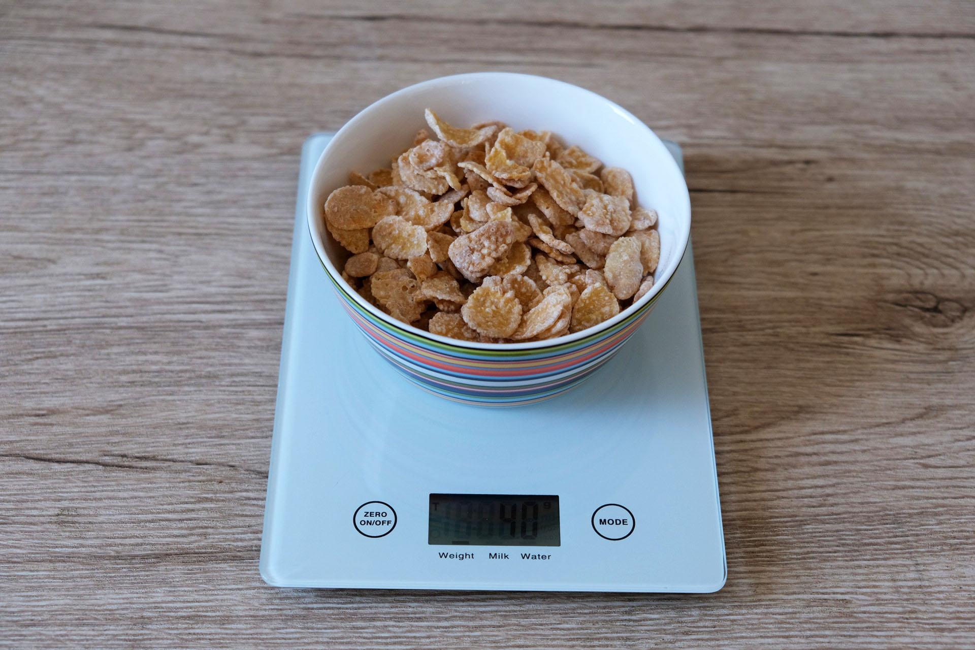 1食分のシスコーン40グラム